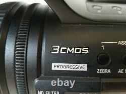 Sony HVR-Z5U Digital HDV Video Camera Recorder MINI DV 20X OPTICAL ZOOM