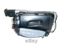 Sony Handycam DCR-TRV110E PAL Digital8 Video Camera Recorder