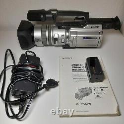 Sony Handycam DCR-VX2000E mit 3CCD Digital Video Camera Recorder Mini DV