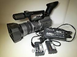 Sony Handycam DCR-VX2100E mit 3CCD Digital Video Camera Recorder Mini DV