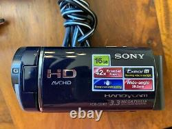 Sony Handycam HDR-CX160 Digital HD Video Camera Recorder 42x Extended Zoom