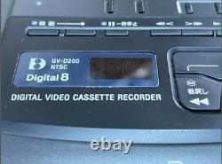 Sony Hi8 GV-D200 8mm & High Eight Tape Playback Digital Video Cassette Recorder