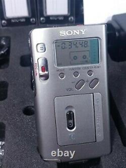 Sony NT2 Scoopman Digital Micro DAT Handheld Recorder Dictation Cassette w VIDEO