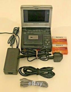 Sony Video Walkman GV-1000 Digital VCR DV/Mini DV PAL Recorder/Player Battery