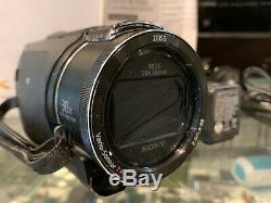 Sony (fdr-ax53) Digital 4k Video Camera Recorder / 16.6 Mp In Box Au Stock