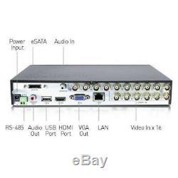 Swann CODVR-16960 16 Channel 960H Digital Video Recorder with 2tb HDD DVR16-1000