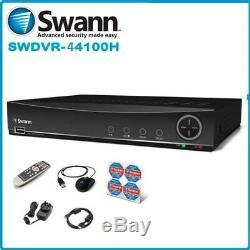 Swann DVR4-4100 4 Channel CCTV HD 960H Digital Video Recorder 1TB DVR HDMI VGA
