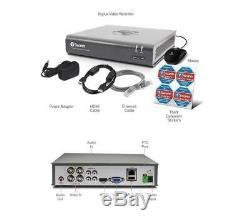 Swann DVR4-4580 4 Channel HD 1080p 2mp Digital Video CCTV Recorder DVR 1TB HD