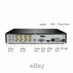 Swann DVR8-4100 8 Channel CCTV 1TB HD DVR Digital Video Recorder Security System
