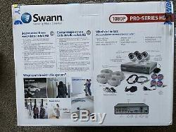 Swann DVR8-4550 8 Channel 1080p HD Digital Video Recorder & 4 x Cameras
