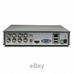 Swann DVR 1600 8/4 Channel HD 720p Digital Video Recorder AHD TVI 1TB HDD CCTV