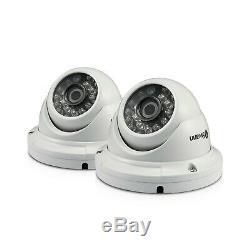 Swann DVR 4575 4 Channel HD Digital Video Recorder 2TB Pro-T854 Dome Camera CCTV