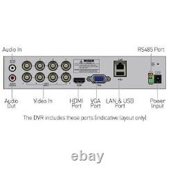 Swann DVR 4680 4 8 16 Channel 1080p Full HD Digital Video Recorder PIR CCTV HDMI