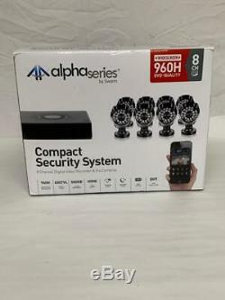 Swann SWDVK-8ALP18-US Compact Security System 8 Channel Digital Video Recorder &