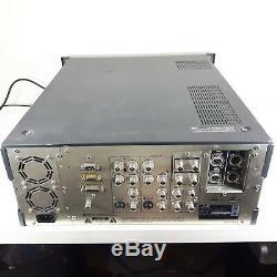TESTED JVC BR-D85U Video Cassette Recorder Digital S Editor VTR Component 422