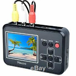 Video Capture VHS 8mm Video Tape to SD Card Digital Converter Record HDMI Outpu