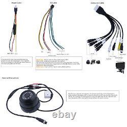 WIFI GPS 4G 1080P AHD 2TB HDD Car DVR Mobile MDVR Video Record IR Camera Monitor