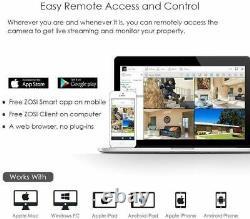 ZOSI 8 Channel CCTV DVR 1TB HDD Video Recorder 1080N for HD TVI AHD VGA HDMI BNC