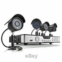Zmodo PKD-DK4216-500GB 4 Channel Digital Video Recorder + 4 CMOS 420TVL Camera