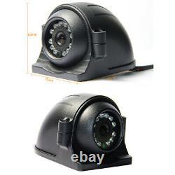 1080p 4ch Gps 2tb Hdd Car Mobile Dvr Mdvr Enregistrement Vidéo Cctv Caméra 7 Moniteur