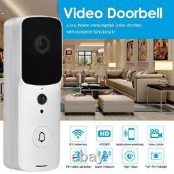 1080p Sans Fil Wifi Vidéo Sonnette Intelligent Porte Anneau Interphone Caméra De Sécurité De Bell