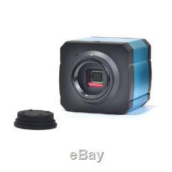 14mp Microscope Hdmi Appareil Photo Numérique Tf Enregistreur Vidéo Oculaire C Mount Adapter