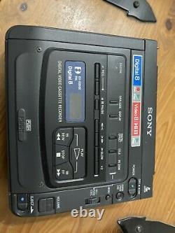 2 X Sony Gv-d200e Pal Digital 8 Hi8 Video Player Recorder Vcr Vidéo