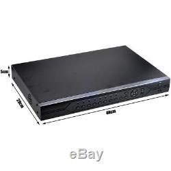 32ch Cctv Dvr Enregistreur Vidéo Numérique Support Tvi CVI Ahd Caméras Cvbs Cloud P2p