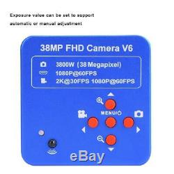 38mp Hdmi Usb Hd 1080p Vidéo Zoom Numérique Microscope Industriel Camera Recorder