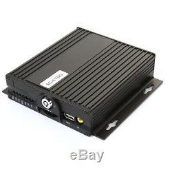 4ch Canal H. 264 Voiture Mobile Dvr Kit Enregistreur Numérique Numérique 3g Soutien Gps Wifi