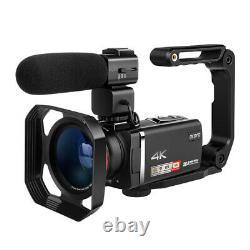 4k Ordro Vlog Caméra Vidéo 100x Digital Zoom Camcorder Enregistreur Avec Contrôleur