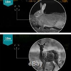 5x40 Numérique Night Vision Dvr Enregistrement Vidéo Portée Ir Monoculaire Zoom 200m Plage