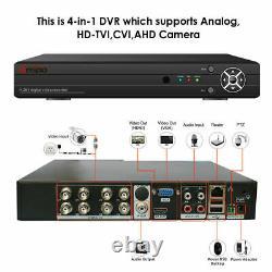 8/4ch 16ch Cctv Dvr Digital Video Recorder Ahd 1080n Hd Hdmi Bnc Security System