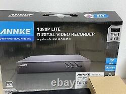 Annke Dn81r 8 Channel Digital Video 1to Enregistreur Avec 4 Caméras