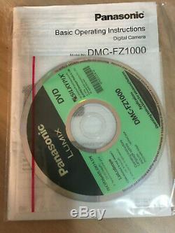 Appareil Photo Numérique Panasonic Lumix Dmc-fz1000 20,1 Mp Noir, Boxed