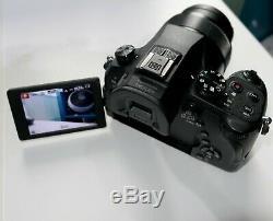 Appareil Photo Numérique Panasonic Lumix Dmc-fz1000eb Enregistrement Vidéo 4k Avec Zoom 20x Et Zoom X