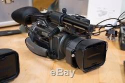 Appareils Photo Numériques Sony Dsr-pd150p Et Ensemble Enregistreur Vidéo Sony Dsr-1500p