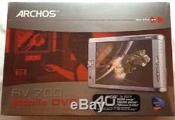 Archos Av700 Dvr Enregistreur Vidéo Numérique Mobile 40 Go, 7 Pouces, Av 700