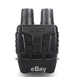 Audio Binoculaire D'appareil-photo D'enregistreur Vidéo De Nuit De Vision Nocturne Infrarouge De 720p Ip56 Digital