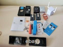 Bague 8vr1s7-0eu0 1080p Hd Video Doorbell 2 Avec Extension Wifi Chime Pro + Extras