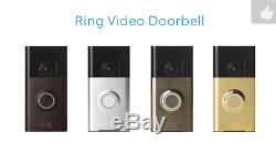 Bague Vidéo Sans Fil Sonnette Wifi Intercom Caméra Enregistrement Smart Home, Clin D'oeil