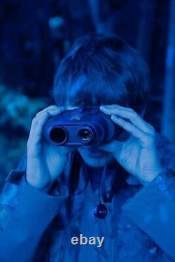 Binocular Widescreen Night Vision Numérique Infrarouge 150m Gamme W Enregistrement Vidéo