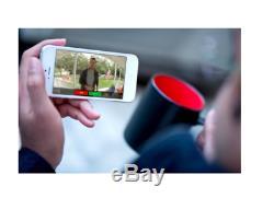 Black Ring Vidéo Sans Fil Sonnette Capteur Smart Phone 2 Way Vocale Haut-parleur