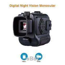 Boblov 5x Numérique Infrarouge De Vision Nocturne 8 Go Scope Photo Enregistrement Vidéo