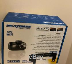Brand New Nextbase 512gw Dash Cam Caméra Car Enregistreur Vidéo Numérique