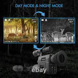 Caméra De Vision De Nuit Infrarouge Numérique Rexing Avec Enregistrement Vidéo