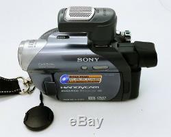 Caméscope Numérique Sony DVD Handycam Dcr-dvd755e 800x Qui Fonctionne Bien