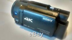 Caméscope Sony 4k Fdr-ax33 Caméscope Numérique Avec Wi-fi