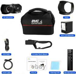 Caméscope Vidéo Numérique Rx100 4k Hd Touch Screen Photography Recorder Pour Webcam
