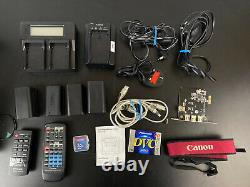 Canon 3ccd Caméscope Numérique Xm2 Pal Fluorite 20x3ccd Mega Pixel Enregistrement